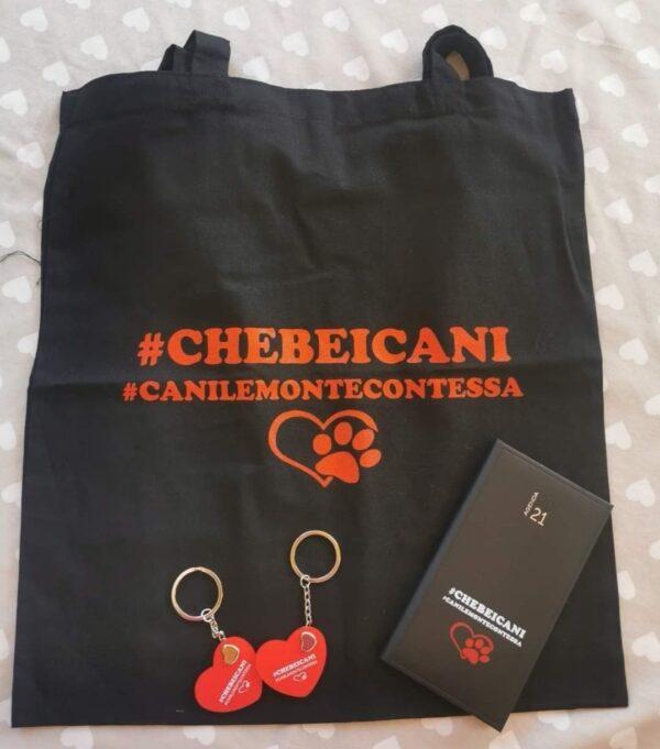 Shopper di tessuto #CheBeiCani 1
